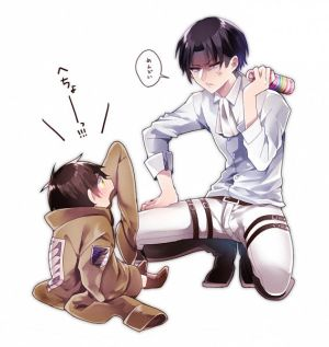 Levi X Child!Reader by The-Fruit-Pantry on DeviantArt