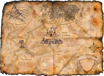 Map of Maelorum by wfincher