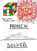 How to solve a Rubik's Cube by Rhondesaur