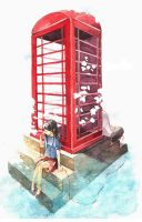 telephone booth of happiness by kawako198