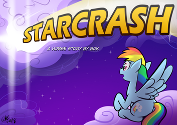 Coverart for Starcrash: A Horse Story by Bok by ChrisTheBlue