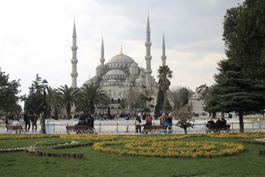 Blue Mosque by CanisDiabolos