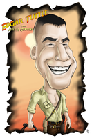 Caricature - Edgar T by B2DaRice