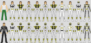 MMPR White Ranger: Tommy by CWK34
