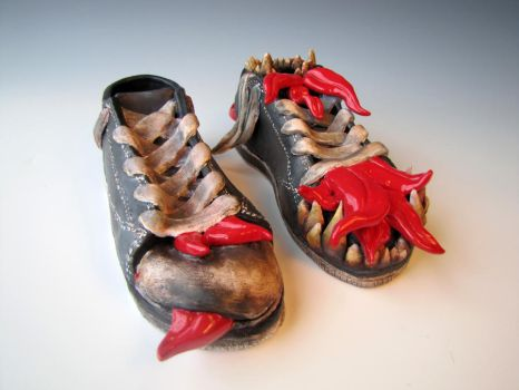 Monster Shoes by ExitChan