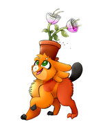Favourite flower by theYTfox