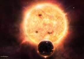 Giant Betelgeuse by GuilleBot