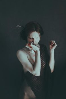 Wounded with Silence by NataliaDrepina