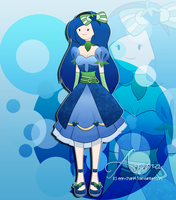 Azura - The Blue Strawberry Princess by Erin-Chan143