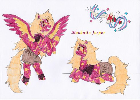 MLP Mookaite Jasper (Art-Trade) by OkamiRyuu1993