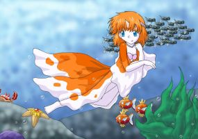 Misty Mermaid...Goldeen?
