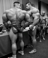Huge opponent by UnitedbigMuscle
