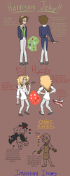 Mystery Mayhem OCT: Harry and Ed ref by Geek-of-the-Week