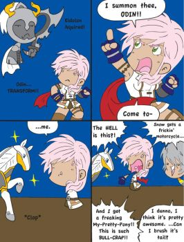 FF 13 Comic 21: Pony Whisperer by Dilly-Oh