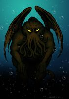 Cthulhu by Sularias
