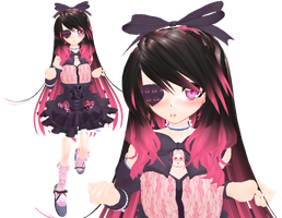 MMD NEWCOMER: Casual Bella +DL by TrinityRaven