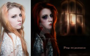 Abandoned Before and After by pjenz