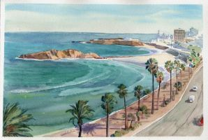 Monastir embankment by art-bat