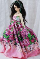 .Flover Dress. by ball-jointed-Alice