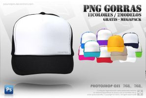 LIBREs HATs GORRAs PRE2MODELs by paundpro