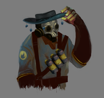 tf2 pyro by Plegathon