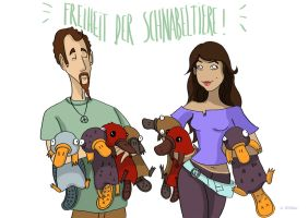 Deponia : Freedom of animal beak! by Annamalie