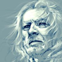 GoT : Sketch : Eddard Stark by noei1984