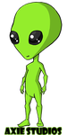 Jimmy the Alien by CupcakeAshley