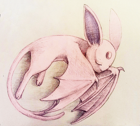 Espeon_wyvern by AliseCullen
