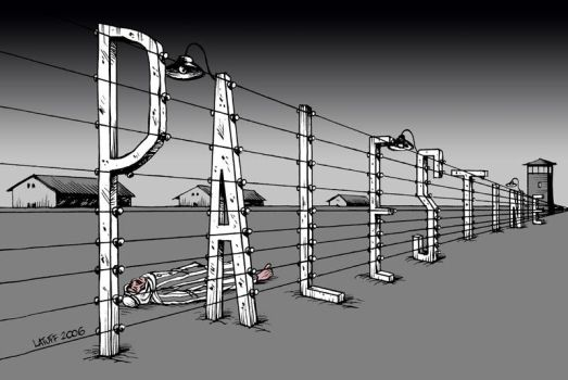 A new concentration camp by Latuff2