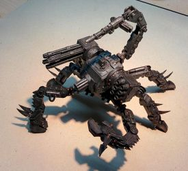 Chaos Defiler Scratchbuild by sirris