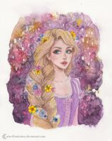 Rapunzel by ARiA-Illustration