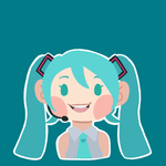 Miku by cuppaint