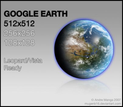 Google Earth Icon by MugenB16