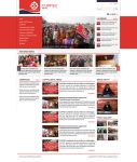 Layout for News Portal - Cuppec Nepal by harkalopchan