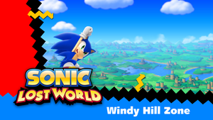 Sonic Lost World Wallpaper by NuryRush