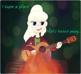 I know a place that's tucked away.. by Galaxy-Chi-Chan