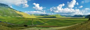 Panorama Castelluccio by Sh000rty