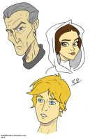 Star Wars Sketches by DANGERcomics