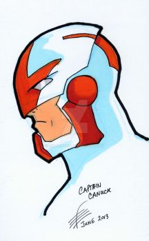 Captain Canuck by dracon257