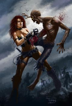 Zombie Rampage by madadman