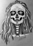 Selena ( Dia del Muerto) by Lyght337