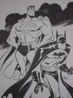 Bruce Timm's World's Finest by theirishgrover