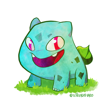 Bulbasaur by StevenRayBrown