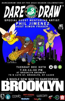 Dare2Draw Comes to Brooklyn! by Dare2Draw