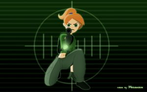 Kim Possible Conviction - On gunsight by ICOM-raziel1982