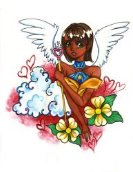 TWITTER REQUEST - Chamuel the Archangel by Quaylove3
