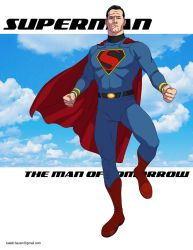 Superman: The Man of Tomorrow! by khazen