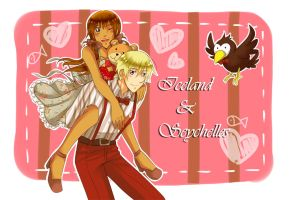 APH : Icesey V-day by Pinkalala