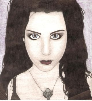 Amy Lee Portrait by MOVINGPICTURES1981